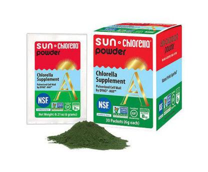 Supliment alimentar natural Chlorella Pudra